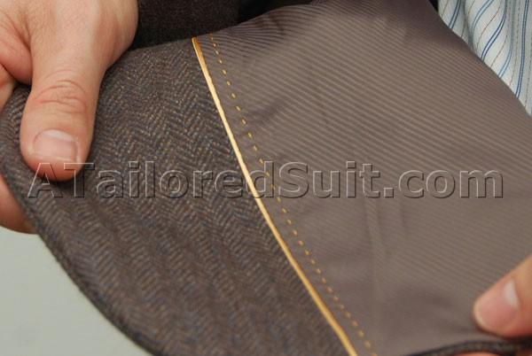 What Does Ats Mean >> Mens Sports Jacket Detail, Mens Blazer, Bespoke custom sport coat, tailored odd jacket