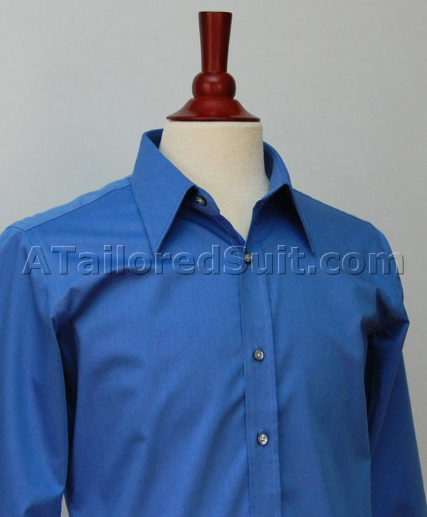 French Blue Dress Shirt