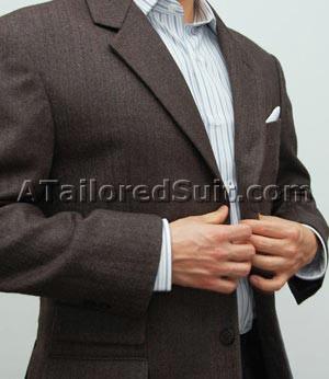Расположение пуговиц мужского пиджака