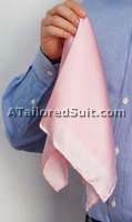 мужской шелковый носовой платок