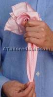 Способы красиво сложить мужской носовой платок