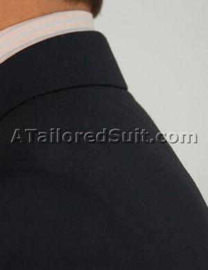 соотношение мужского костюма и сорочки в области шеи