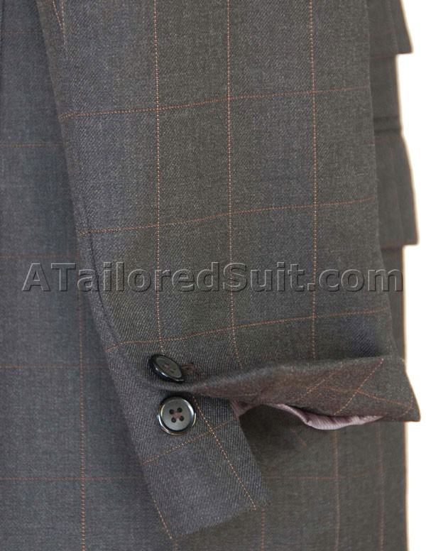 Men's Sleeve Button Holes Jacket