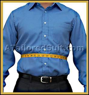 Male Stomach Measurement