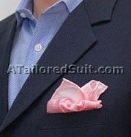 Фужер - как сложить мужской носовой платок