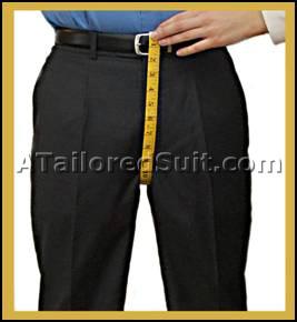 Men's Trouser Crotch Measurement