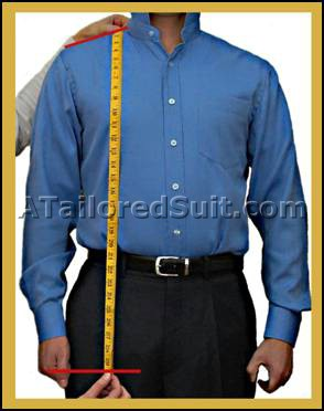 Men's Custom Suit Measurements - How to Measure for a Tailored