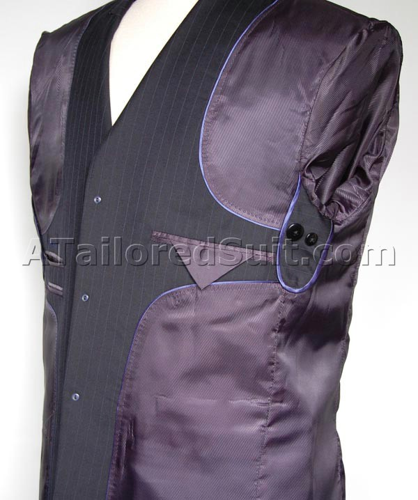 mens suit jacket interior