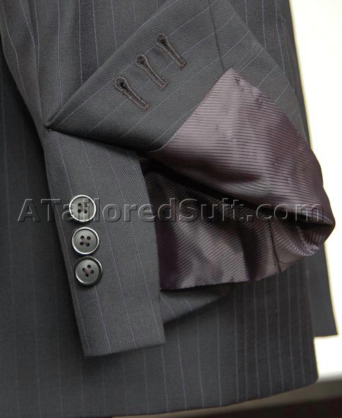 mens suit working sleeve buttons
