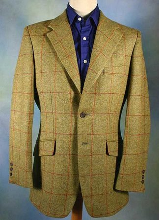 tweed jacket front