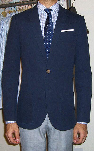 What to Wear - Mens Blazer, Men's Navy Blue Blazers, How to wear a ...