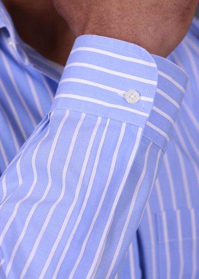Mens shirt cuffs men 39 s french barrel button cuff for Men french cuff dress shirts