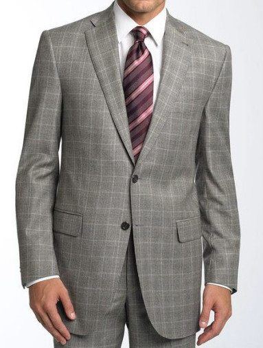 Men's Light Grey Suit Article - How to wear a custom bespoke light ...