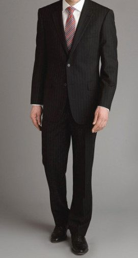 Men's Black Suit Article - How to wear a custom bespoke black mens ...