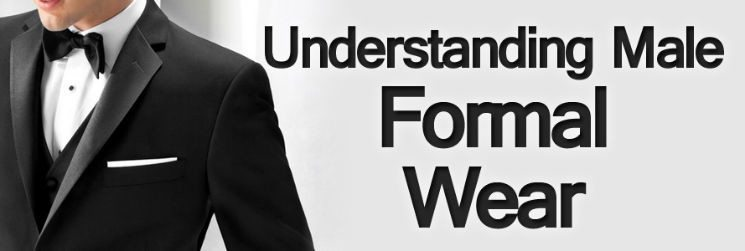 Men's Black Tie – Understanding Male Formal Wear