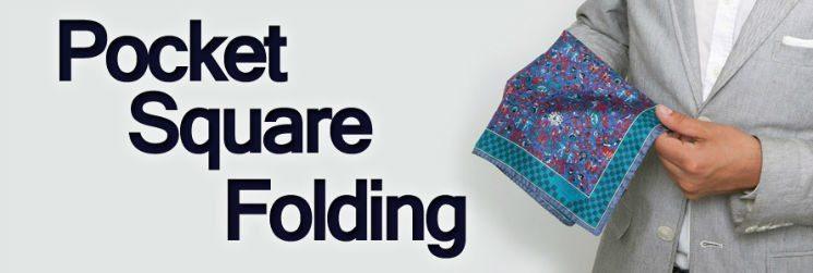 Men's Pocket Squares – Handkerchief Folding