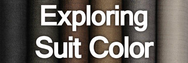 Men's Suits – Exploring Suit Color