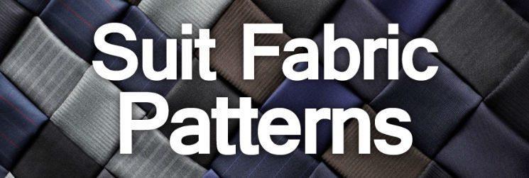 Men's Suits – Exploring Suit Fabric Patterns