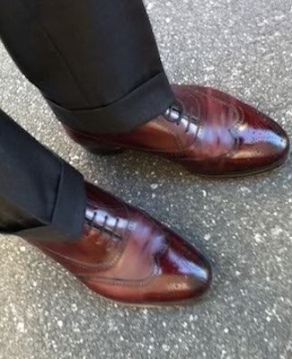 Charcoal Trouser Cuffs