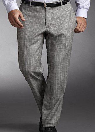 Windowpane Trousers