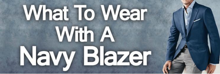 Why A Man Should Own A Navy Blue Blazer