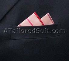 Острие - способ сложить мужской носовой платок