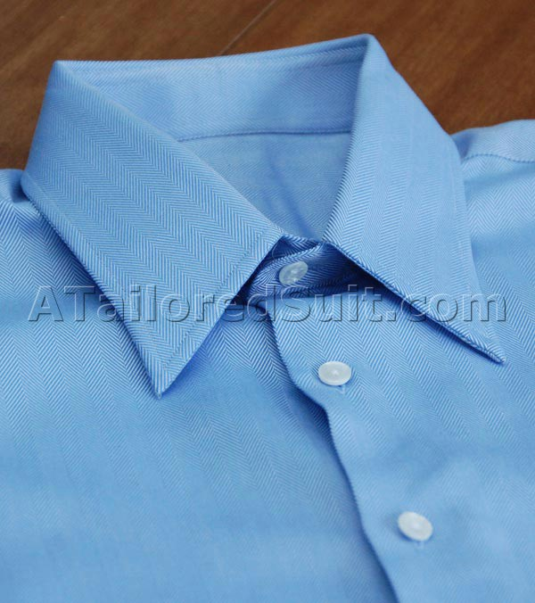 Tailored Dress Shirt French Blue