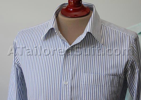 Mens dress shirt details men s collars cuffs split yoke for Mens shirt collar styles
