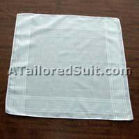 Как сложить мужской носовой платок - шаг 1