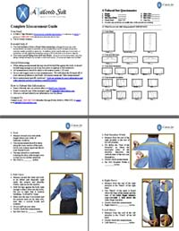 Custom Garment Measurement Instructions