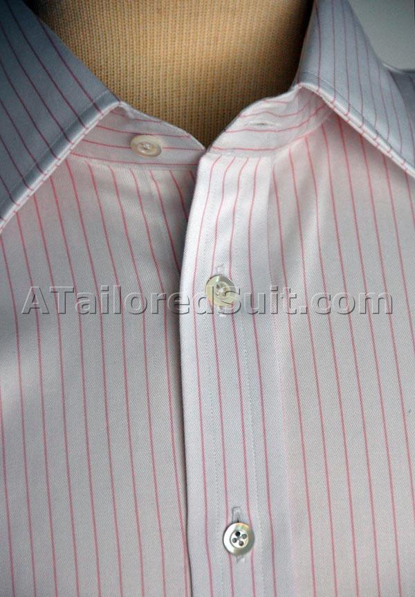 Bespoke Shirt Button Details