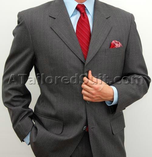 Мужской костюм вид в полный рост