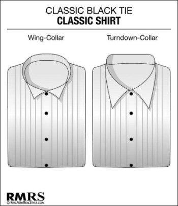 Tuxedo Classic White Shirt