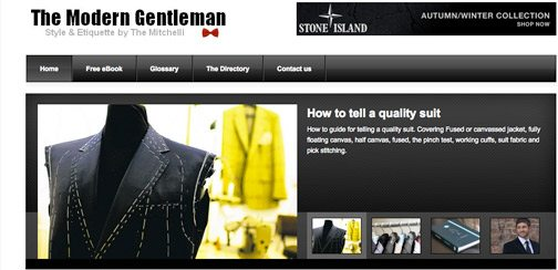 Mens Style Blogs