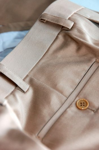 Mens dress trousers of light color