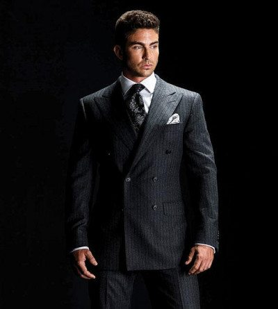 Intro - Double Breasted Mens Jacket, Men's Suit