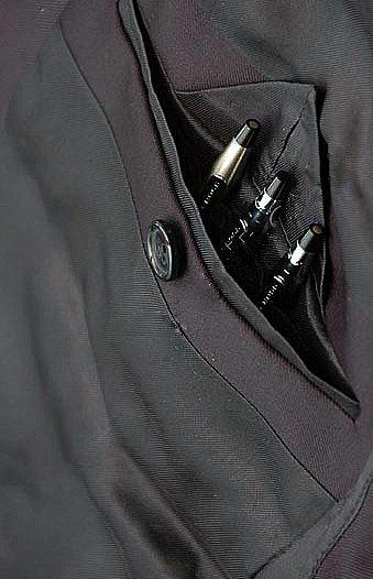 pen interior jacket pocket