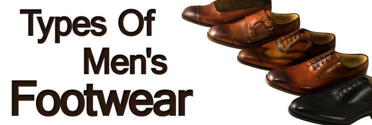 Men's Dress Shoes:  Types of Men's Footwear