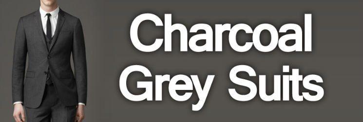 Men's Suit Color – Charcoal Grey Suits
