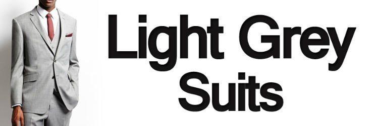 Men's Suit Color – Light Grey Suits