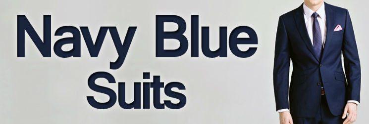 Men's Suit Color | Navy Blue Suits