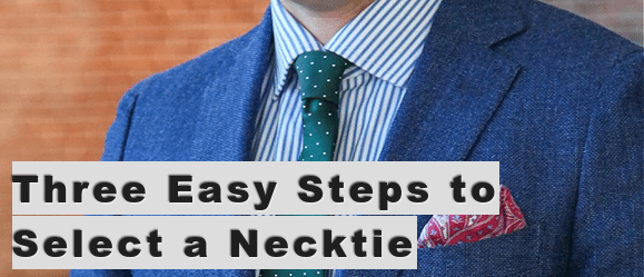 select a necktie